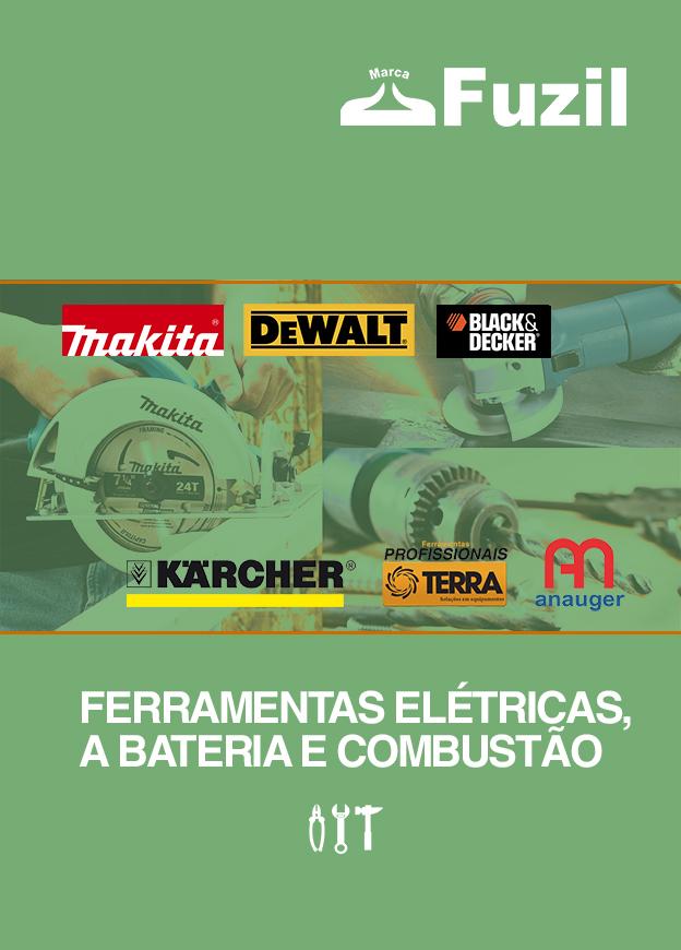 Ferramentas Elétricas, a Bateria & Combustão